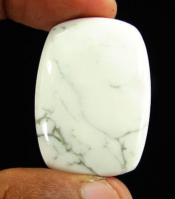 71.00 Ct Natural Howlite Loose Gemstone Cabochon Beautiful Stone - 11868