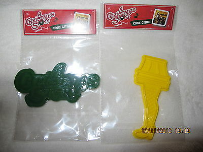 A Christmas Story Cookie Cutter Set of 2