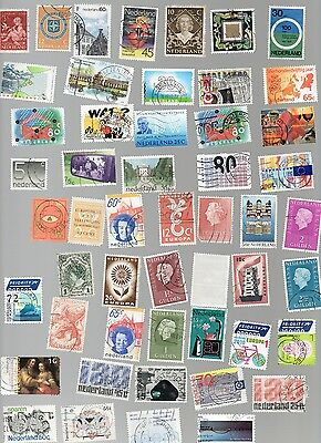 Netherlands Stamps 140 All Different and Off Paper