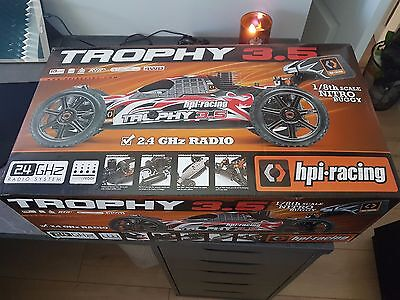 HPI Trophy 3.5 RC 1/8 Scale Nitro Car (Boxed & New)