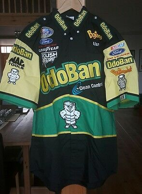 Roush Racing Odoban Clean Control Nascar Busch Series pit crew shirt in Large