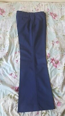 mens flared trousers 34w