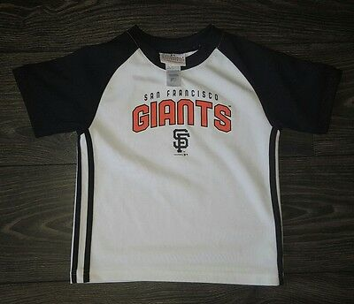 Boys San Francisco Giants Baseball T-Shirt Age 4 Years