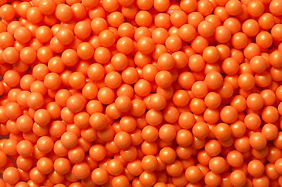 SweetWorks Candy Beads - Pearl - Orange - 100 g