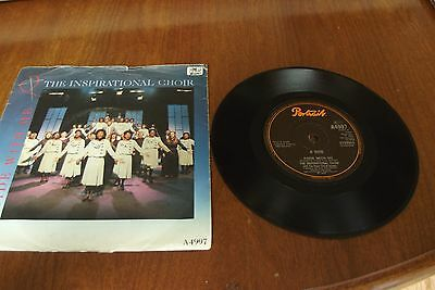 1980's vinyl record THE INSPIRATIONAL CHOIR Abide with me / Sweet Holy Spirit