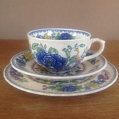 Vintage Masons REGENCY Ironstone China Cup, Saucer and Side Plate