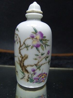 Chinese enamel Porcelain Snuff bottle               5