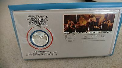 The American Bicentennial Medallic First Day Cover proof set
