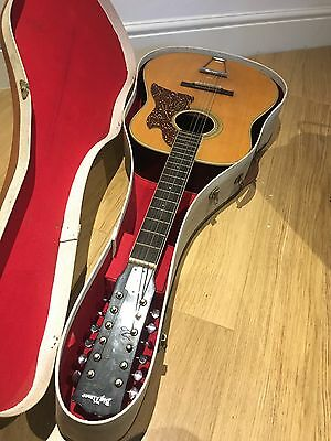 Big Timer Acoustic Guitar With Case