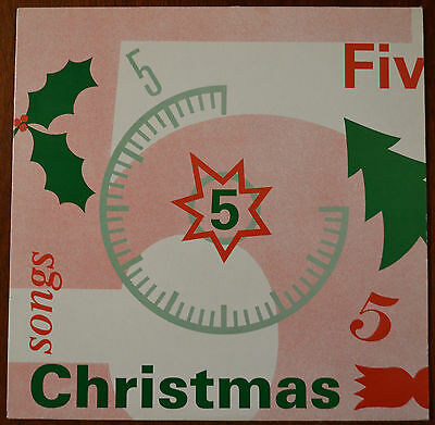 BBC Northwest / Children In Need – 5 Christmas Songs LP – NWT 1 – Ex