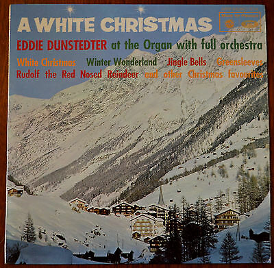 Eddie Dunstedter / The Jingle-Bells Orchestra ‎– A White Christmas LP – MFP 1174