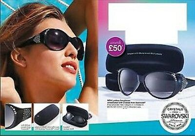 Avon Lyndsey Sunglasses Embellished With Crystals From Swarovski (New) (RRP £50)