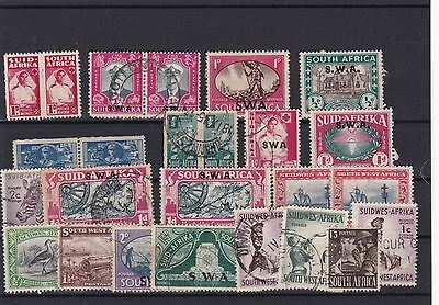 South Africa  Stamps Mounted Mint And Used Ref 1450