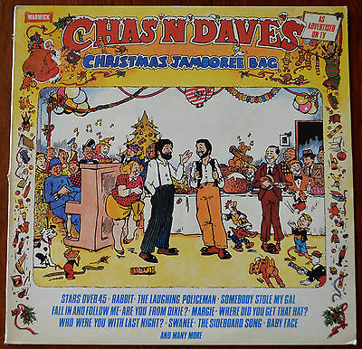 Chas And Dave ‎– Chas 'N' Dave's Christmas Jamboree Bag LP – WW 5116 – Ex