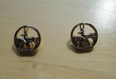 Chanel Deer buttons - Listing for 2 Buttons