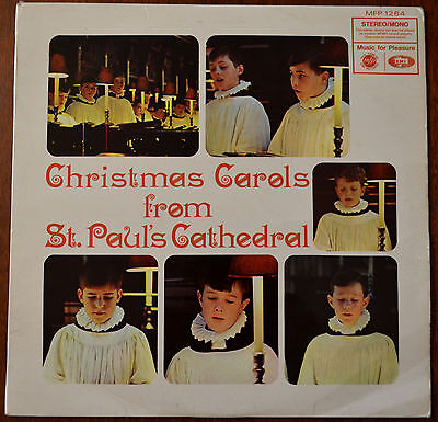 St. Paul's Cathedral Choir ‎– Christmas Carols From St. Paul's Cathedral LP – VG