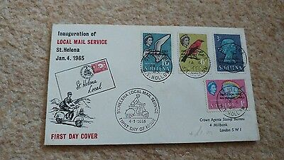 st helena local mail service fdc