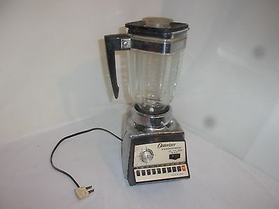 Vintage Osterizer Cyclomatic Blender - Model 677-01A - Works Great!