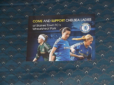 Chelsea Ladies 2013 Postcard