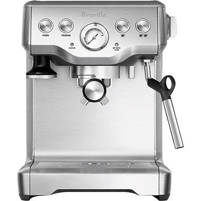 Breville Infuser Espresso Automatic Coffee Machine Coffee Maker BES840 Grey new