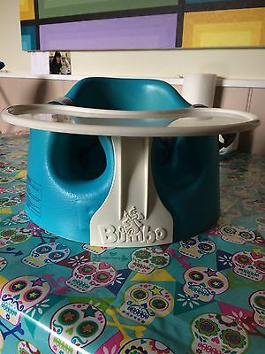 Bumbo Chair With Tray Blue