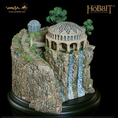 WETA The Hobbit White Council Chamber Miniature Environment Statue NEW SEALED