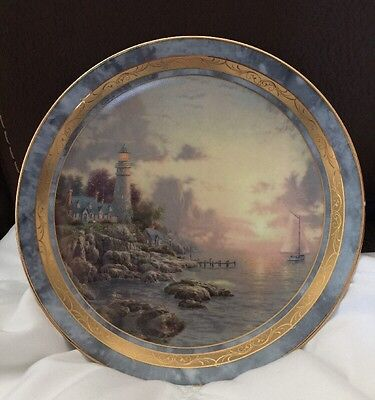 Thomas Kinkade's Sea Of Tranquility. Plate #654B. The Bradford Exchange.