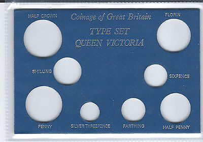Victoria Type Set Insert Card Holder - 8 Holes