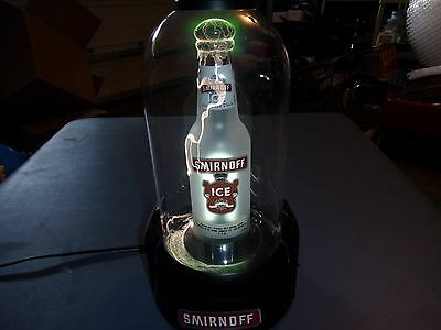 "Awesome 14.5"" Smirnoff Ice Plasma Ball Great For Bar Or Man Cave!"