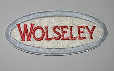 New Embroidered cloth badge - Wolseley .