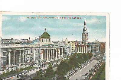 Vintage postcard National Gallery London posted