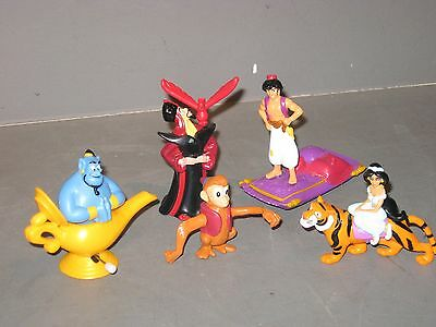 Lot Of 5 Burger King Aladdin Toys...not In Original Packing