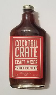 Cocktail Crate Craft Mixer Spiced Old Fashioned 12.7 oz Bottle (1) New