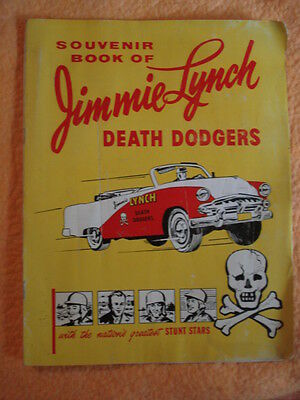 1955 Jimmie Lynch Death Dodgers Souvenir Book - Dodge Cars