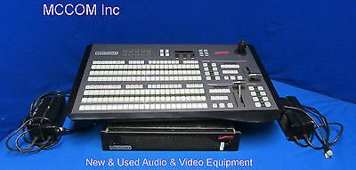 Ross Carbonite 2ME 16 Input HD Switcher w/ 24 button control panel, Redundant PS