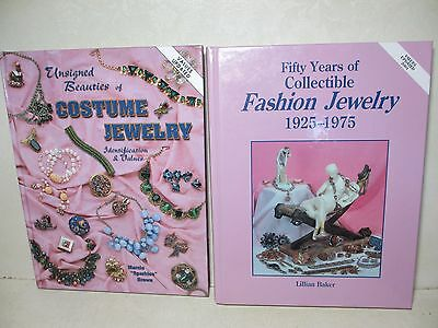 2 Reference Books Identification & Collector's Value Guide Fashion Jewelry