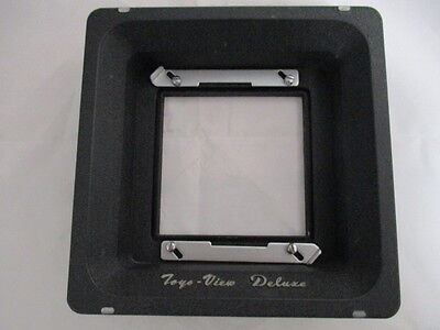 EXC++++ Toyo View - Speed Graphic Recessed type lens board adapter JAPAN