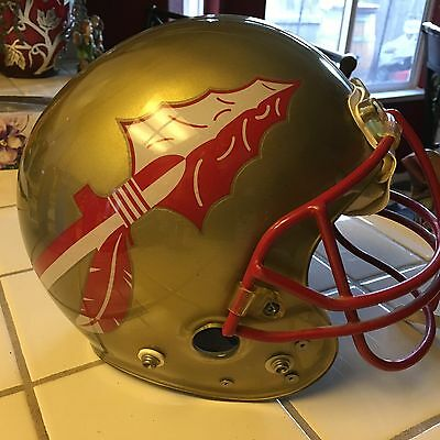 Florida State Clear Shell Maxpro Helmet Game Used XL