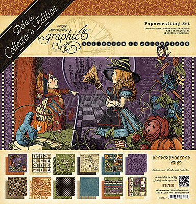 GRAPHIC 45 Hallowe'en in Wonderland Deluxe Collector's Edition NEW!!
