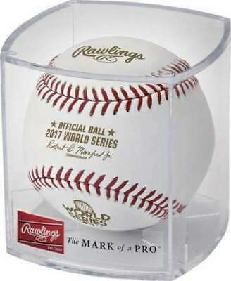 Rawlings 2017 World Series MLB Official Game Baseball - Cubed