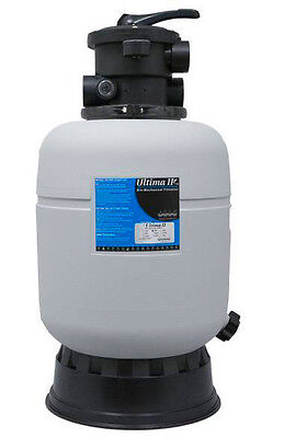 Ultima II 2000 Pond Filter - 1.5-inch Valve w/ BONUS Floating Pond Thermometer!