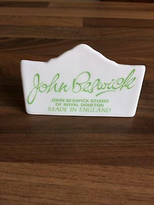 John Beswick Studio Of Royal Doulton Advertising  Display Sign Plaque