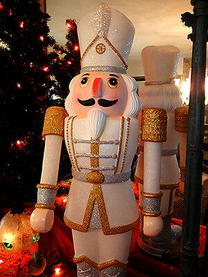 Animated 37 Inch Marching * Nutcracker * Lighted / Musical Christmas Rare
