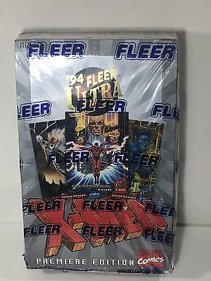 1994 Fleer Ultra X-Men Premiere Edition Trading Cards Factory Sealed Box 36 Pack