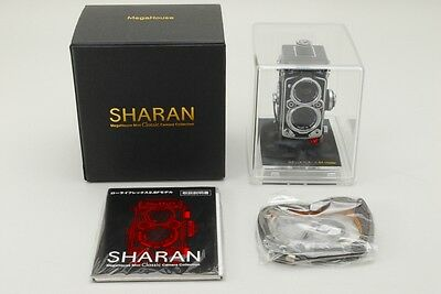 TOP MINT!!  SHARAN MegaHouse Rolleiflex 2.8F Miniature Camera w/ BOX  JAPAN #549