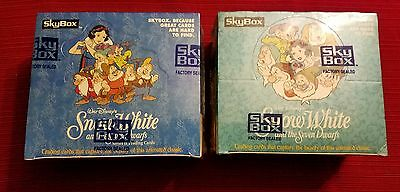 Skybox Disney Snow White Series 1&2 Factory Sealed Boxes Unopened
