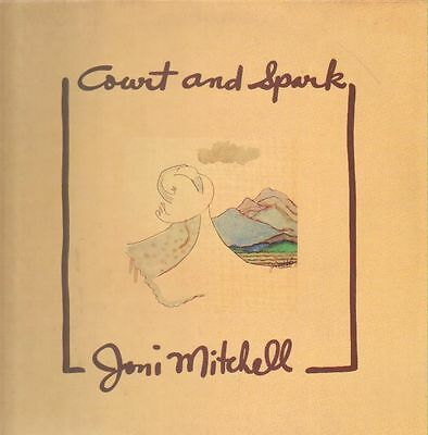 JONI MITCHELL Court and Spark LP EX/EX AS 53 002