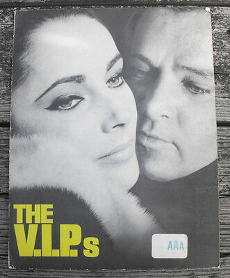 The VIPs Movie Press Release Kit 1963 - MGM Information Review Packet