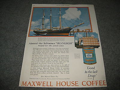 Vintage advertising - maxwell House Coffee 1924 Large Format