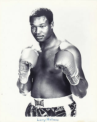 LARRY HOMES 8X10 Photo BOXING BLACK AND WHITE PICTURE 4 LOT